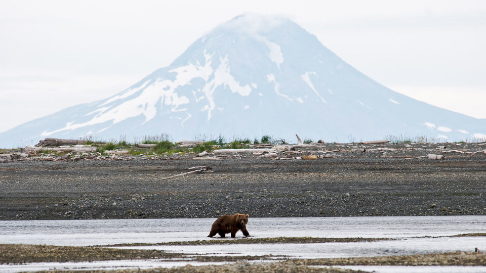 Volcanoes of Alaska: Katmai and Lake Clark